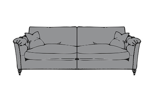 Sophia Extra Large Standard Back Sofa