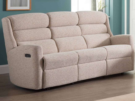 Celebrity Somersby 3 Seater Fabric Recliner Sofa