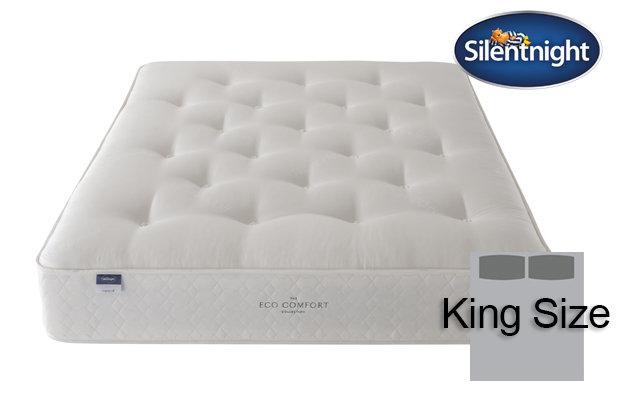 Silentnight Miracoil Saffron Eco Comfort King Size Mattress