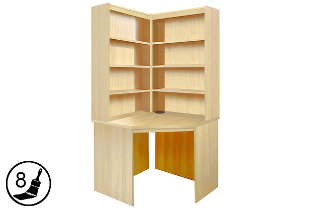 R White B-CDK-OO – Corner Desk