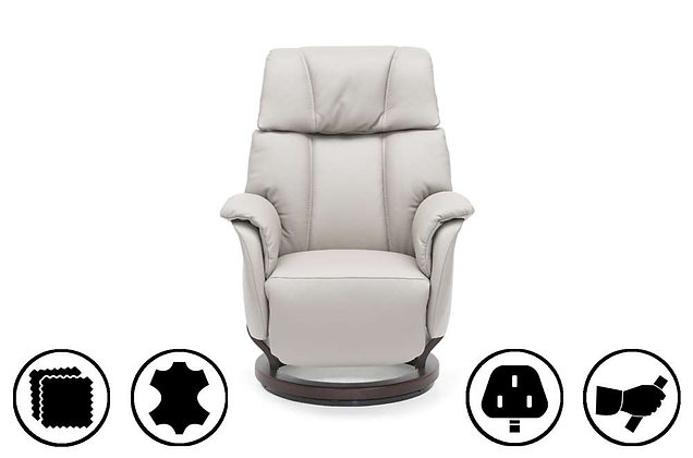 Kolding Small Recliner Chair with Integrated Footrest