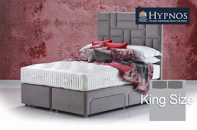 Hypnos Cherry Sublime King Size Divan Bed