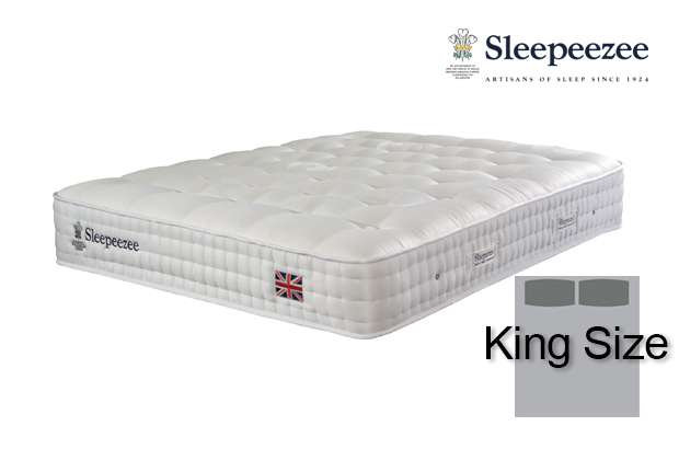 Sleepeezee Perfectly British Strand 1400 King Size Mattress