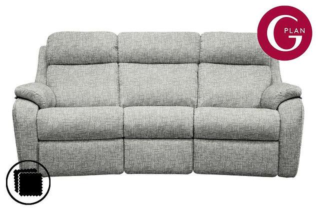 G Plan Kingsbury Curved 3 Seater Sofa