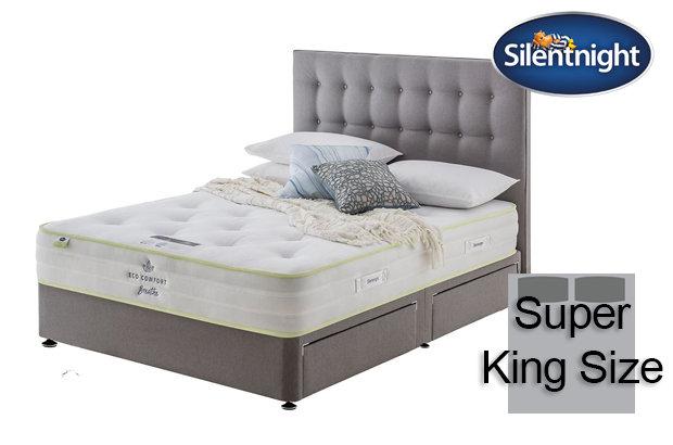Silentnight Mirapocket Eco Comfort Breath 1200 Super King Size Divan Bed