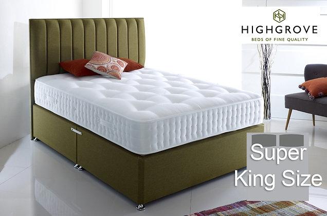 Highgrove Fifteen Super King Size Divan Bed
