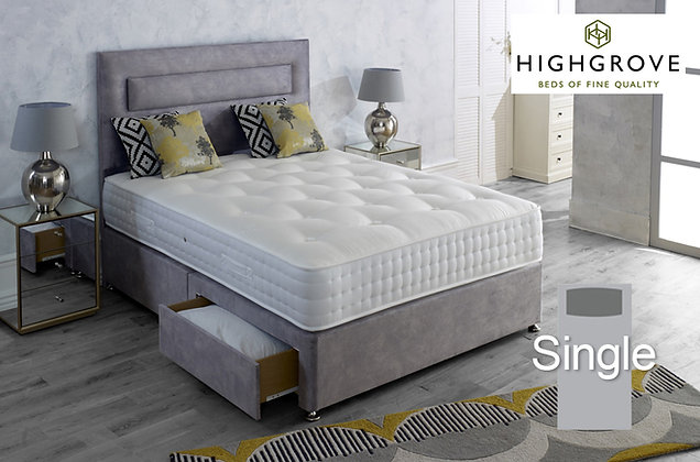 Highgrove Mayfield Ortho Single Divan Bed