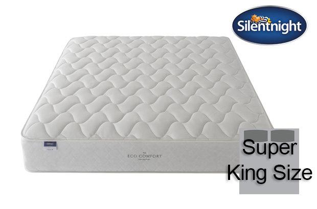 Silentnight Miracoil Sage Eco Comfort Super King Size Mattress