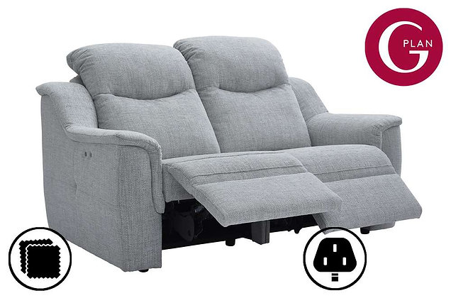 G Plan Firth 2 Seater Double Power Recliner Sofa