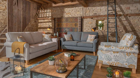 Geneva Fabric Sofas & Armchair