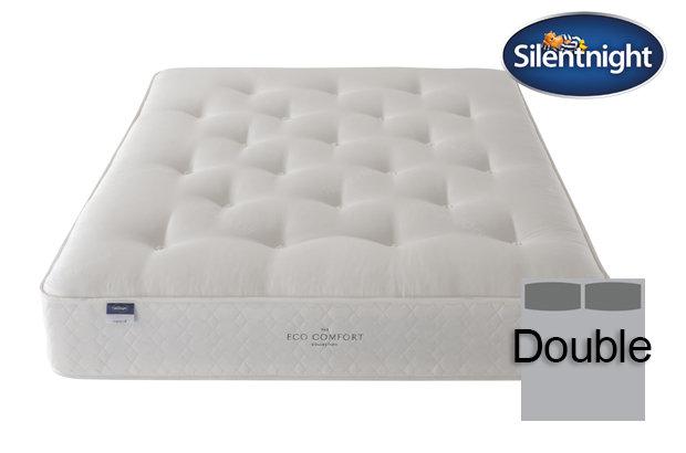 Silentnight Miracoil Saffron Eco Comfort Double Mattress