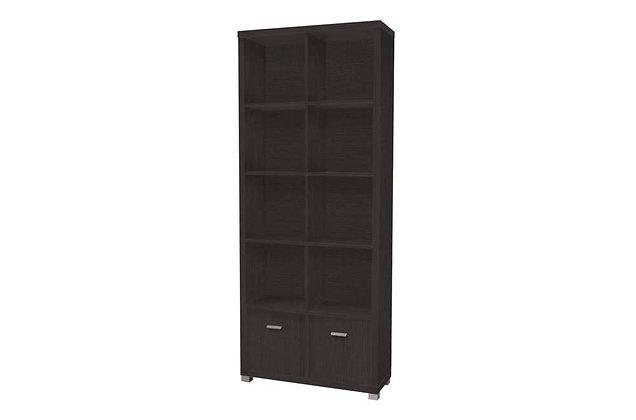 Oscar Tall Bookshelf – Wenge