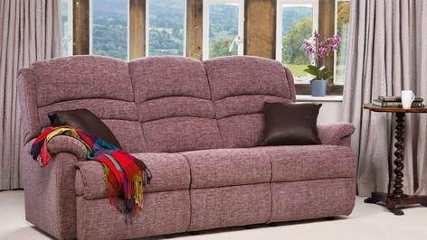 Sherborne Olivia 3 Seater Fabric Sofa