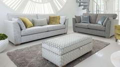 Laughton Faric Upholstered Sofas
