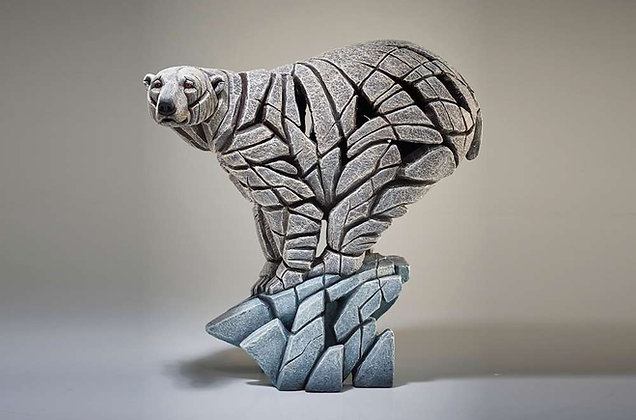 Edge Sculpture Polar Bear Figure