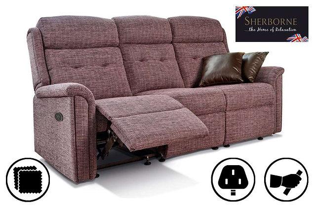 Sherborne Roma Small 3 Seater Recliner Sofa