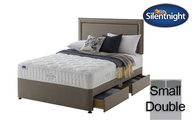Silentnight Miracoil Aqua Geltex Small Double Divan Bed