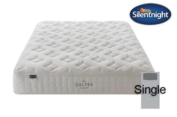 Silentnight Mirapocket Pastel Geltex 1000 Single Mattress