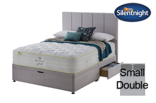Silentnight Mirapocket Eco Comfort Breath 2000 Medium Small Double Divan Bed
