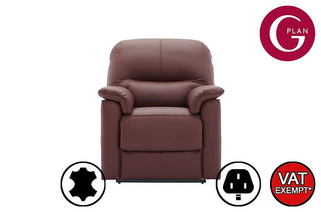 G Plan Chadwick Leather Lift & Rise Recliner Chair