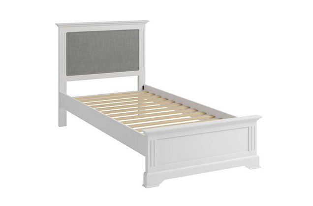 Polar White 90cm Single Bedstead