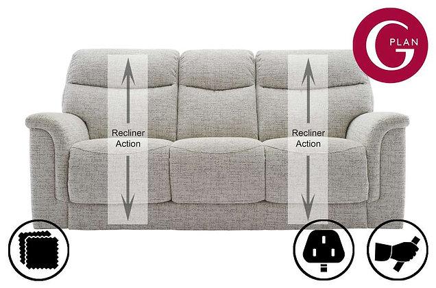 G Plan Harrison 3 Seater Recliner Sofa (3 Cushion)