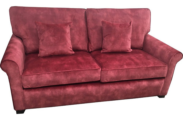 Poppy 3 Seater Sofa Bed with Spring Interior Mattress