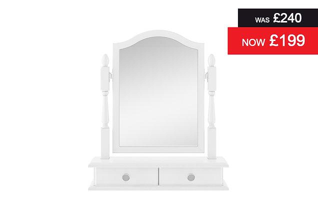 Nicole Dressing Table Mirror - White