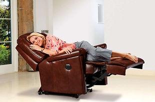 Sherborne Milburn Leather Power Recliner Chair