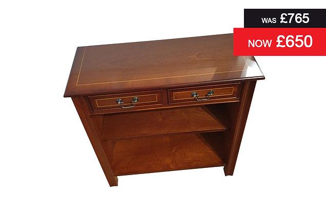A512 Hall Table Unit - Natural Mahogany