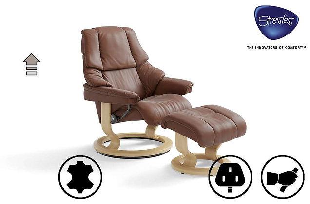 Ekornes Stressless Reno Swivel Recliner Chair