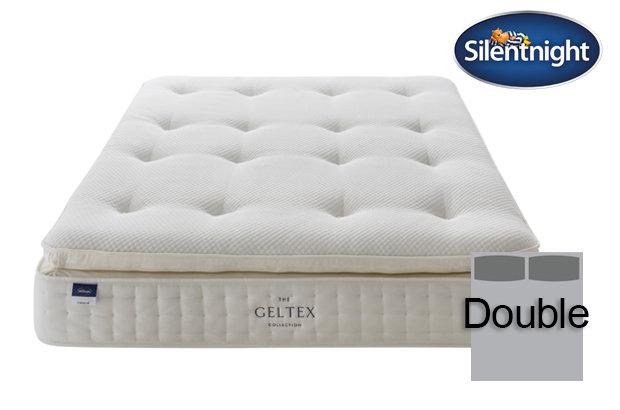 Silentnight Miracoil Elixir Geltex Pillow Top Double Mattress
