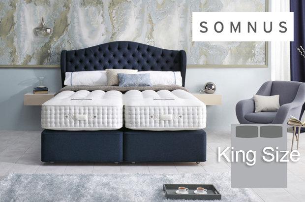 Somnus Ambassador 32,500 King Size Divan Bed