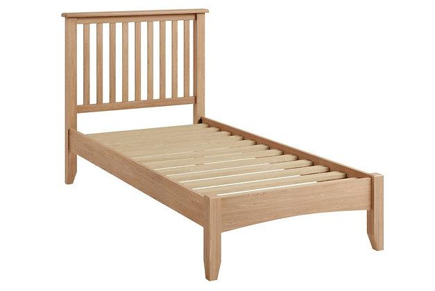 Jersey 90cm Single Oak Bedframe