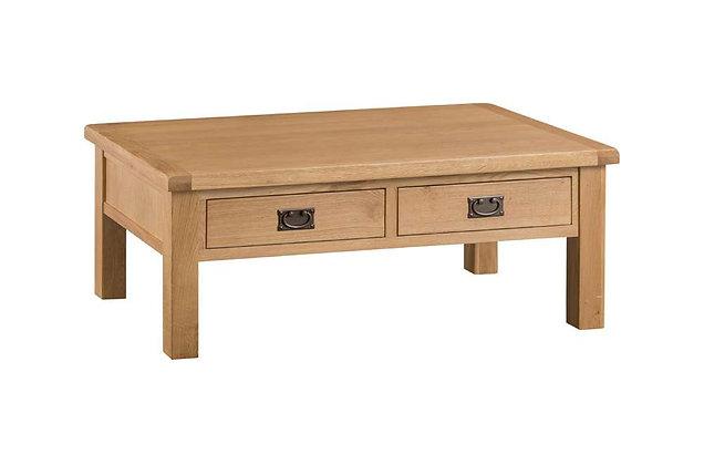 Classic Oak Large Coffee Table