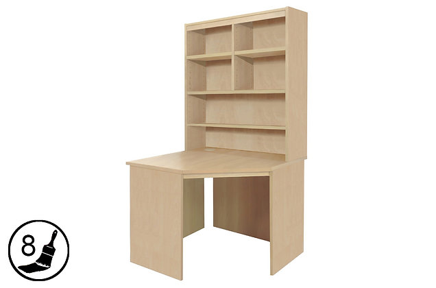 R White B-CDK-OJ – Corner Desk