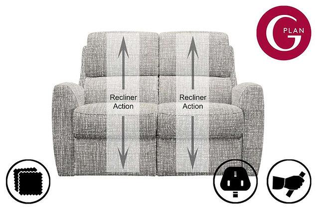 G Plan Hamilton 2 Seater Recliner Sofa