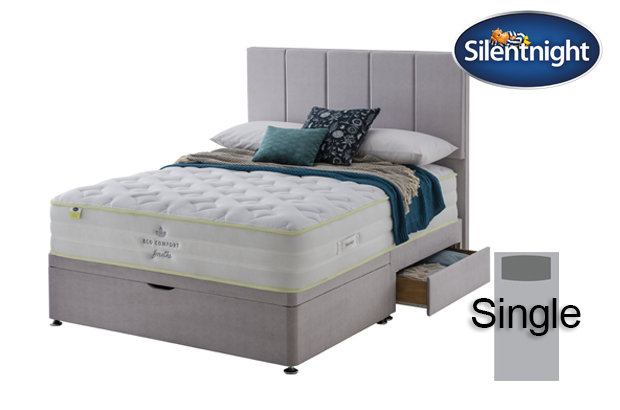 Silentnight Mirapocket Eco Comfort Breath 2000 Soft / Medium Single Divan B