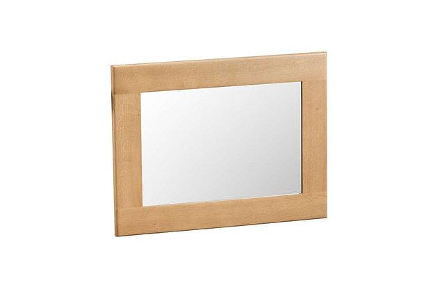 Classic Oak Small Wall Mirror