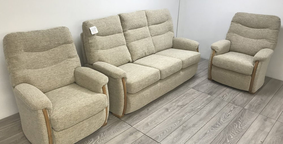 Brockenhurst 3 SeaterSofa & 2 Armchairs