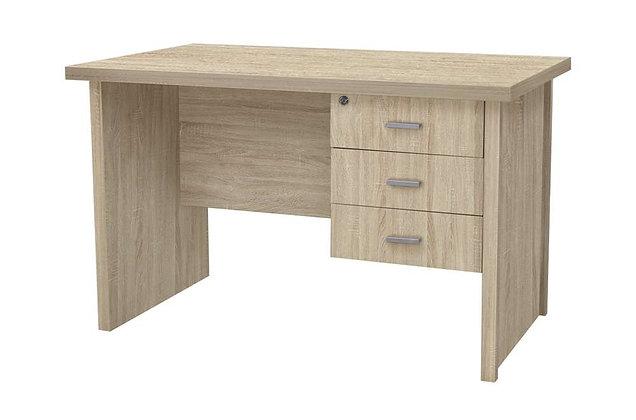 Oscar 3 Drawer Desk 1200 – Light Oak