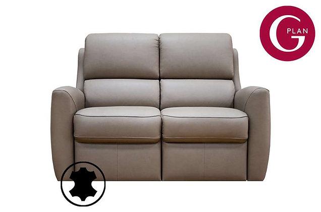 G Plan Hamilton Leather 2 Seater Sofa