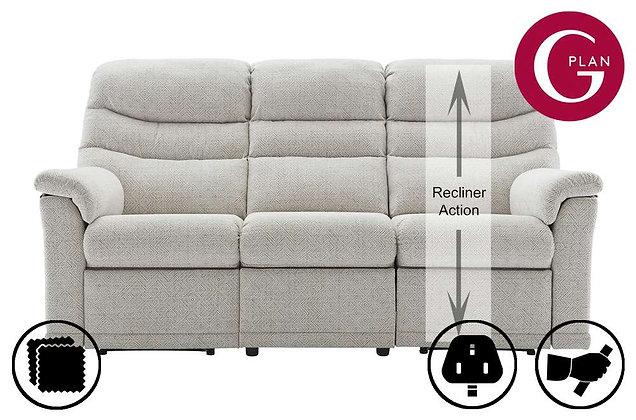G Plan Malvern 3 Seater Right Hand Facing Single Recliner Sofa