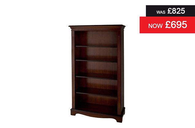A505 Bookcase - Natural Mahogany