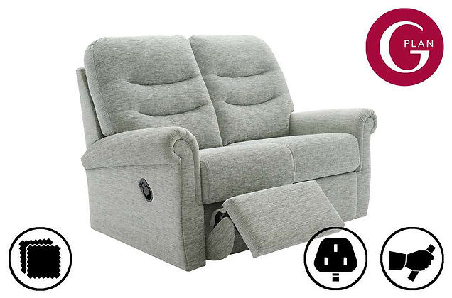 G Plan Holmes 2 Seater Double Recliner Sofa