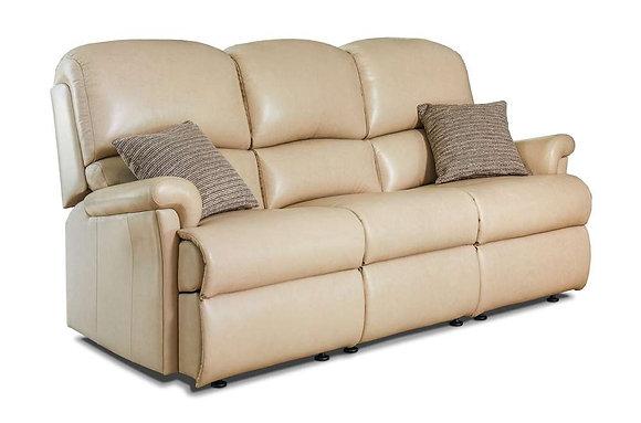 Sherborne Nevada Leather Small 3 Seater Sofa