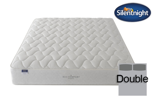 Silentnight Miracoil Sage Eco Comfort Double Mattress