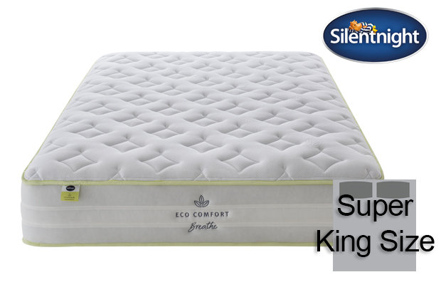 Silentnight Mirapocket Eco Comfort Breath 2200 Super King Size Mattress