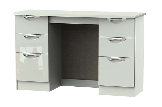 Icon 6 Drawer Kneehole Dressing Table