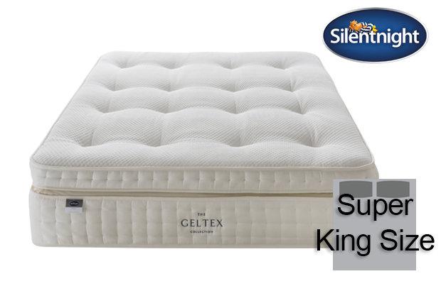 Silentnight Mirapocket Imperial Geltex 3000 Super King Size Mattress